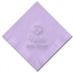 Custom Baby Shower Napkins - Set of 100 (WRT456)