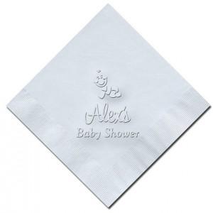 Custom Baby Shower Napkins - Set of 100 (WRT456)