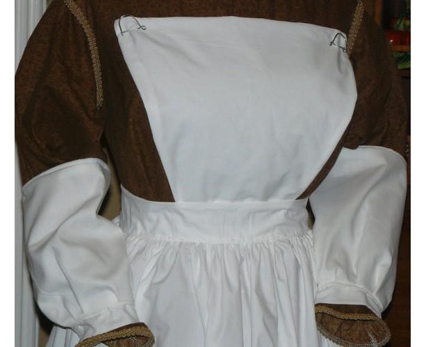 Civil War Reenactment Victorian Prairie Nurse Colonial Oversleeves Hat Clara Barton