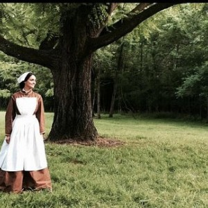 Civil War Reenactment Victorian Day Gown Prairie Nurse Dress Set Ladies CUSTOM Size 2-24
