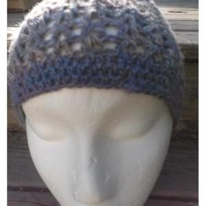 3 Season Hand Spun Crochet Hat