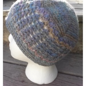 3 Season Hand Spun Crochet Hat