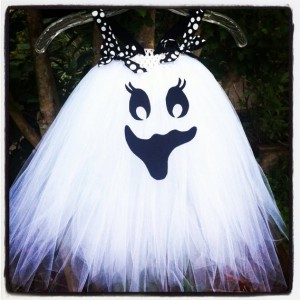 Newborn-24m Happy Ghost tutu dress