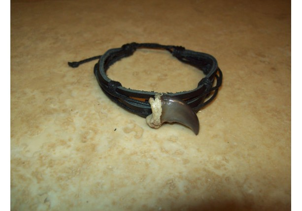 Bear claw bracelet native american made