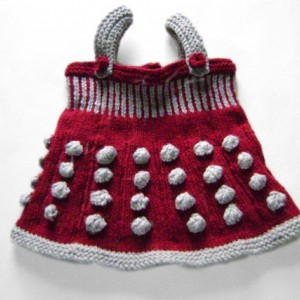 Doctor Who inspired Dalek Baby Jumper