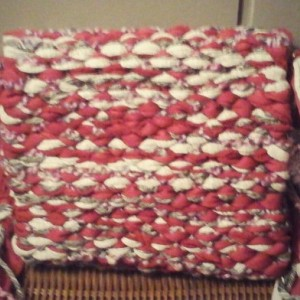 Handmade in USA, woven loomed crossbody strap purse, clutch, washable free shipping