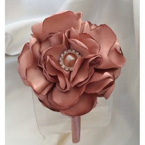 Fabric Satin Flower Headband