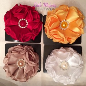 Satin Fabric Flower
