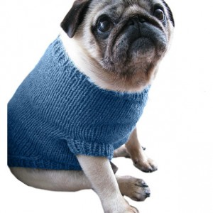 Large Pug Dog Sweater