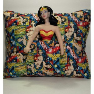 Wonder Women Pocket Pillow