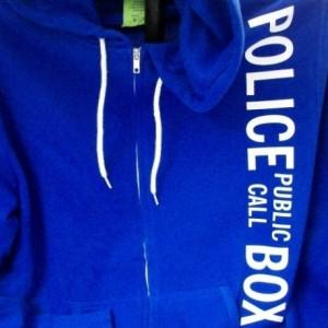 Police Box Hoodie