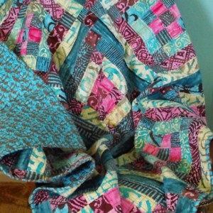 Alabama Quilt Block Lap Quilt