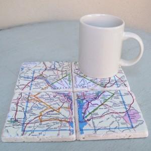 Washington D.C. Map Coasters
