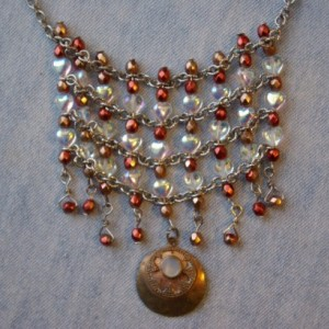 sparkling chains and beads