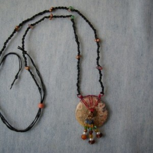 Donut stone with embellishments