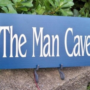 Sign, Man Cave Sign, garage sign