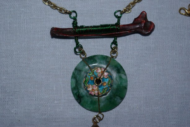 A necklace as intricate as a story