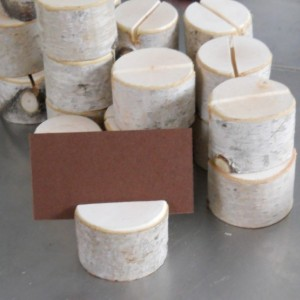 20 Birch Branch Stump Place Card Holders for Weddings Special Event