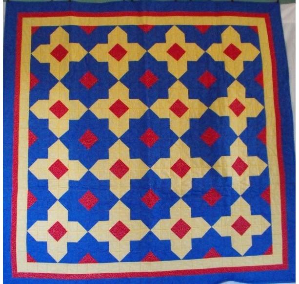 Moroccan Lap Quilt