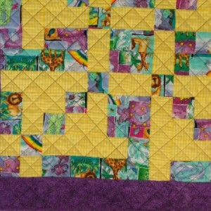 Animals on Parade Baby Quilt