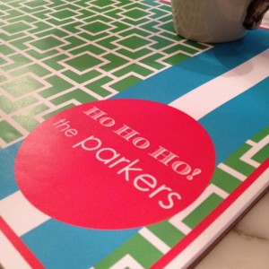 customized paper placemats - 50 sheets per pad