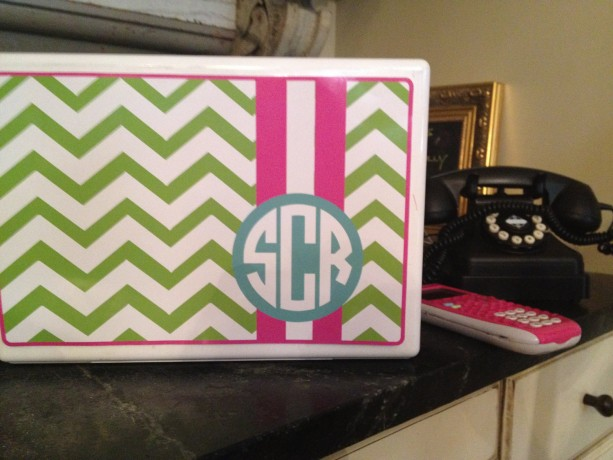 Chevron patterned - Colorful, Custom laptop decals
