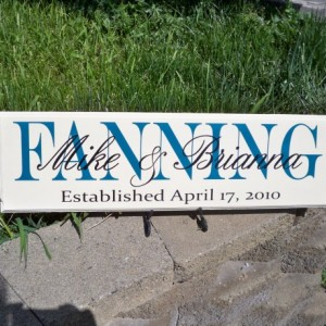 Personalized Sign, Last name Sign, Personalized Family Name Sign, Established Sign, Name Sign, Wedding Sign, Family Name Sign, First Name