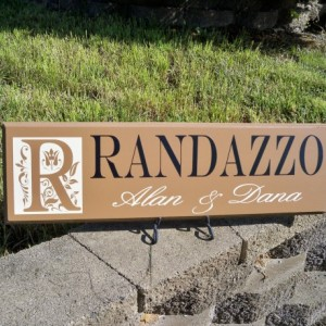 Monogram Name Sign, Personalized Family Name Sign, Personalized Monogram Sign, Last Name Sign, Family Name Sign, Wedding Monogram Sign,