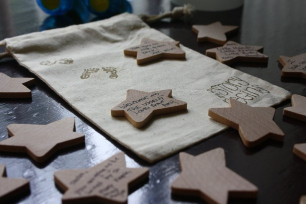 Amazing ... Baby Shower Guest Book Alternative   Wishing Stars ...