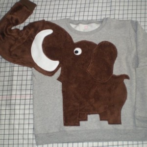 Wooly mammoth sweater, wooly mammoth sweatshirt CUSTOM ORDER your color and size adult or kids