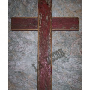 Cross Reclaimed Wood, Barn Wood Rugged Cross