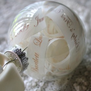 New Baby Keepsake Ornament