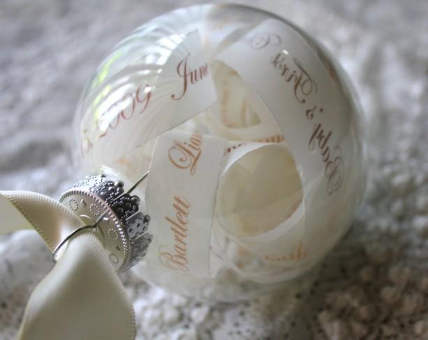 New Baby Keepsake Ornament