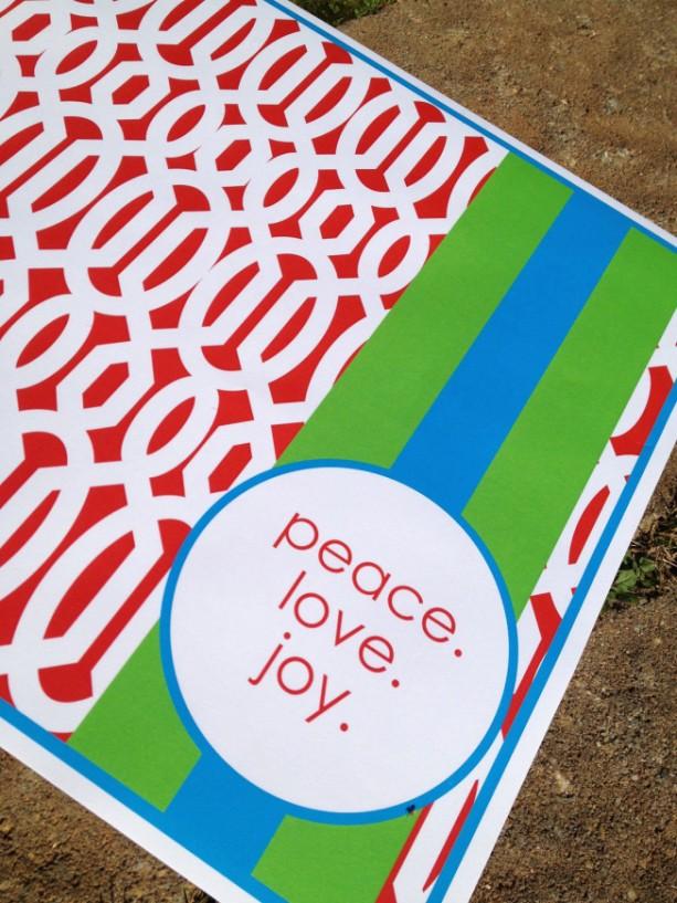 Festive Christmas Placemats