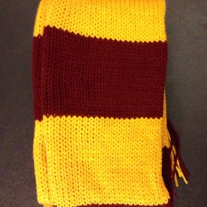Hand Knit Harry Potter Scarf