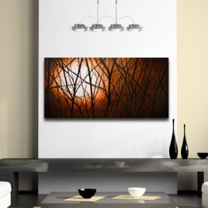 Large Stretched Giclee On Canvas From Painting Other Sizes Available