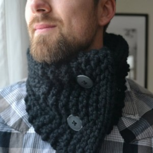 Men's Handknit Cowl | Neckwarmer | For Him