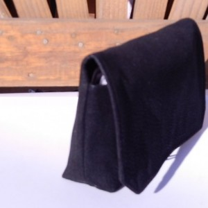 Coupon Organizer Cash Budget Organizer Holder- Attaches to your Shopping Cart -Soft Black Faux Leather