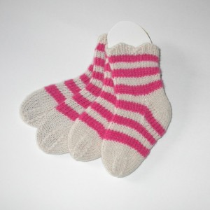 Cashmere  Socks for Baby Girl / Toddler socks.