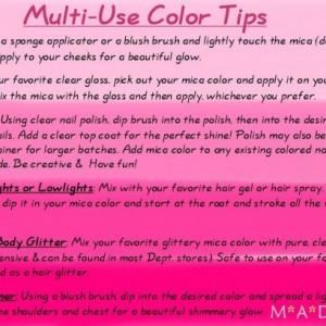 Evocative loose powder mineral multiuse color makeup bare earth pigment minerals