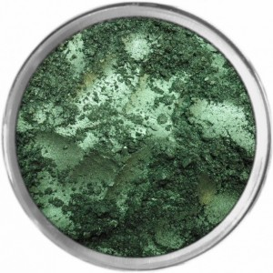 Limited Edition Deep Emerald loose powder mineral multiuse color makeup bare earth pigment minerals