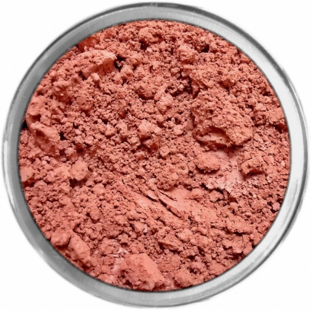 Poinsettia loose mineral powder multiuse color makeup bare earth pigment minerals