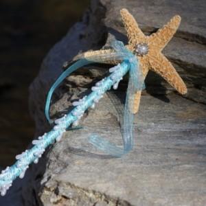 Flower Girl  Starfish Wand