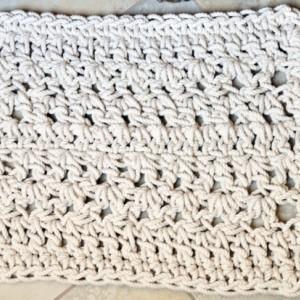 Twisted Lines Rope Mat - Nautical Bathmat - Mat for Beach decor