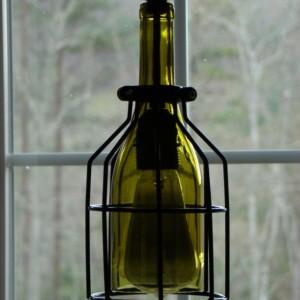 ... Cage Wine Bottle Pendant Light ...