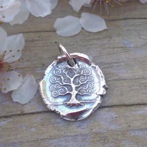 Insignia / Fine Silver Pendant - Tree of Life