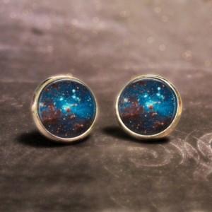 Space Galaxy Earrings