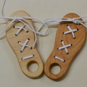 Wood Lacing Toy/Dexterity Toy