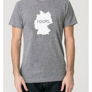 Germany Roots Tri Blend Track T-Shirt - Unisex Tee Shirts Size S M L XL