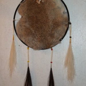 """Horse People"" Shield Mandella, Handmade, Native American Inspired"